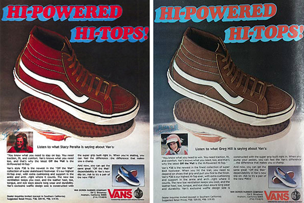 history-of-vans-sneakers-an-advert-for-vans-style-38-via-share-skateboarding
